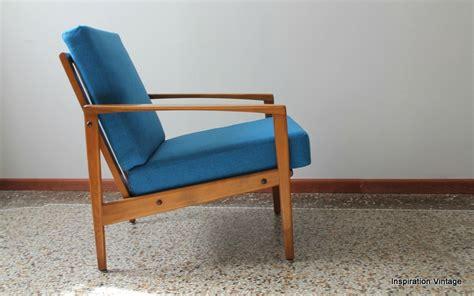 Restaurer Fauteuil Scandinave by Fauteuil Design Scandinave 60 S Bleu Inspiration Vintage