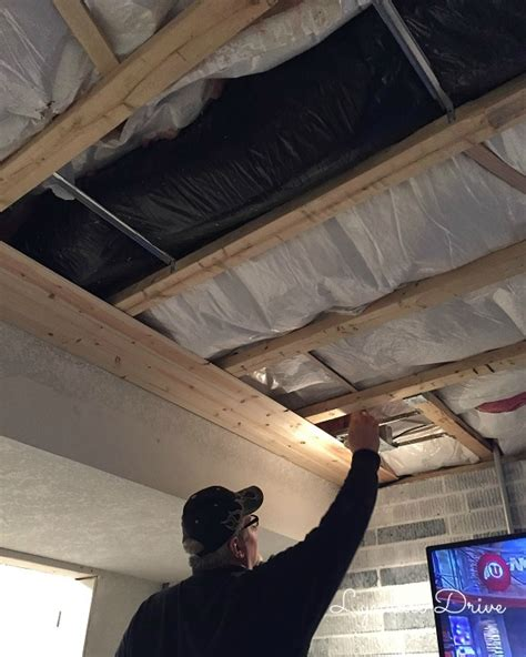 Installing A Ceiling by How To Add Shiplap To A Ceiling