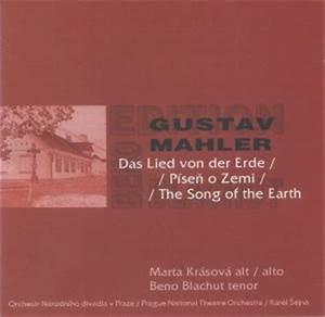 MAHLER Das lied von der Erde Radioservis CR04382 & Spolecnost SBB0010402 [DM] Classical Music