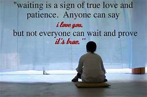 Quotes On Waiting For Love | Quotes about Love
