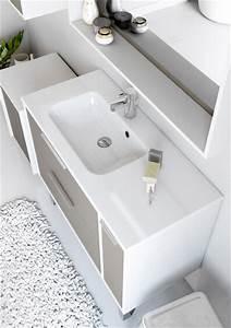 meuble de salle de bain newport aquarine With meuble salle de bain largeur 65 cm