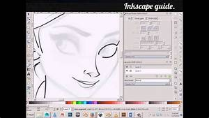Inkscape Guide - Inking A Drawing