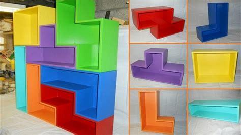 Diy Tetris Shelves  Home Design, Garden & Architecture