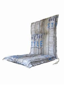 Polster Für Gartenstühle : f r st hle mit niedriger lehne auflagen polster garten gartenm bel loungem bel und mehr ~ Markanthonyermac.com Haus und Dekorationen