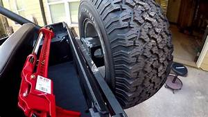 Jeep Cj7 Update 14 - Spare Tire Carrier Surgery