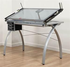 Adjustable Drafting Table Tattoo Stencil Glass Drawing