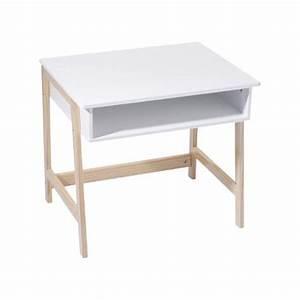Bureau Enfant Blanc : bureau enfant bois et blanc chez rentreediscount cadeaux ~ Teatrodelosmanantiales.com Idées de Décoration
