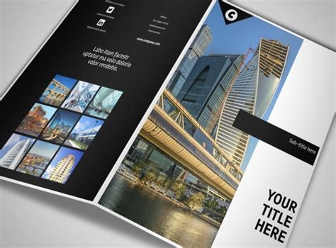 architect architectural design services brochure