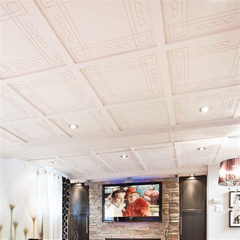 tuiles de plafond suspendu quatro murdesign