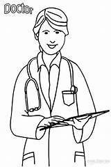 Doctor Coloring Pages Print sketch template
