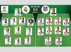 LIVE Real Madrid v Atletico Madrid BeSoccer