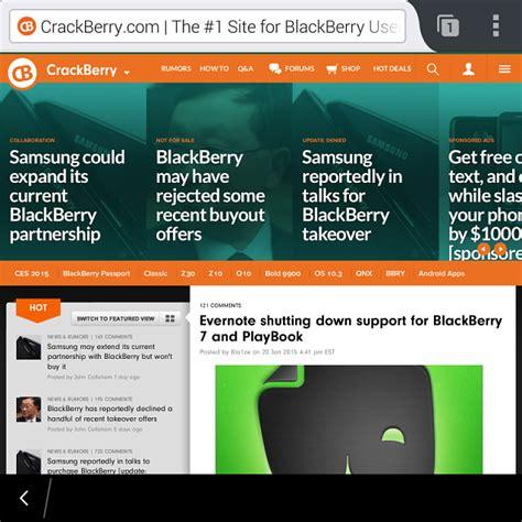 firefox running on blackberry passport sideloaded