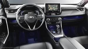 Medidas Toyota Rav4 2019  Maletero E Interior