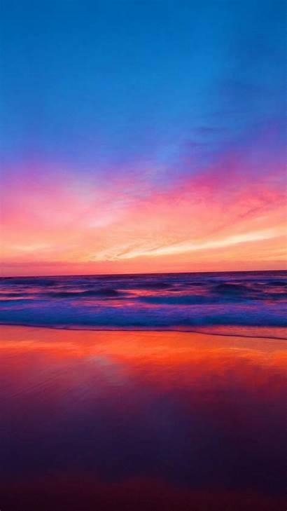 Sunset Iphone Beach Ocean Wallpapers Backgrounds Iphoneswallpapers