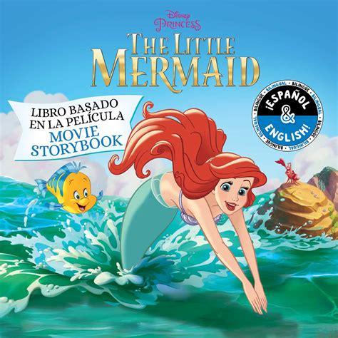 disney   mermaid  storybook libro basado