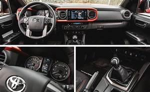 2016 Toyota Tacoma Trd Offrd Black With Orange Stitching