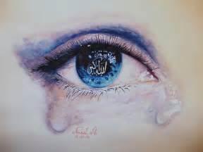 Crying Eye Painting