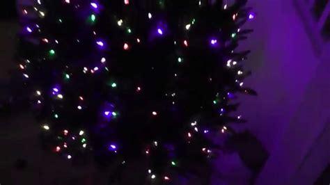 christmas tree lighting 2014 pt2 tree lights testing