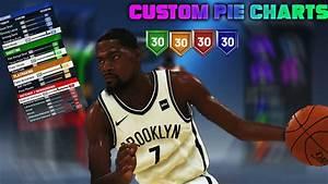Nba 2k20 Custom Pie Charts Youtube
