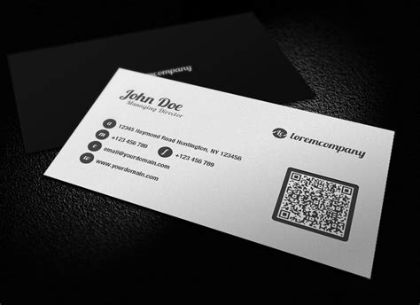 Amazing Examples Of Qr Code Business Card Designs Business Proposal Consultant Plan Sample Bakery Free Thesis Spa Samples Articles Attire Long Sleeve Restaurant Swot Analysis Pdf No Tie