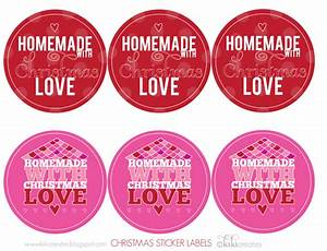 christmas printables how to create 15 different looks With how to make homemade labels