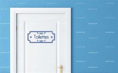 taille minimum chambre stickers porte wc