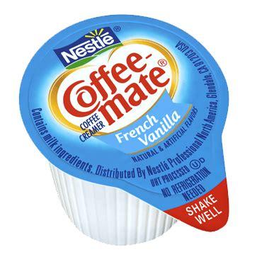 Nestle coffee mate creamer powder french vanilla creamer sugar free 10.2 oz. Coffee-mate French Vanilla Liquid Coffee Whitener Singles ...