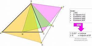 Math Education Geometry Problem 869: Triangle, Median ...
