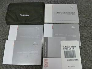 2015 Nissan Rogue Select Suv Owner Operator Manual User