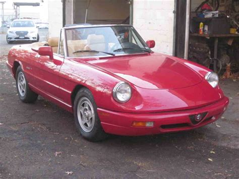 1991 Alfa Romeo Spider For Sale by 1991 Alfa Romeo Spider For Sale Classiccars Cc 924852