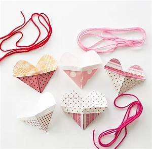 hello, Wonderful - ORIGAMI HEART POCKET NECKLACES WITH VIDEO