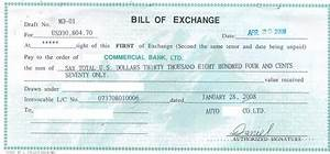 Bill Of Exchange Form  imgkid   The Image Kid Has It!