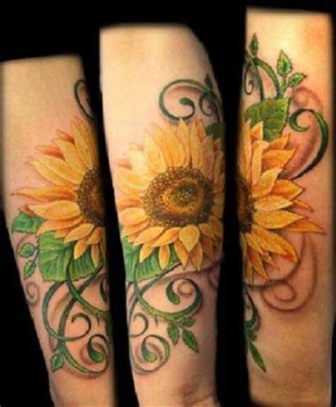 sunflower tattoos  arm tattoo  itattooz