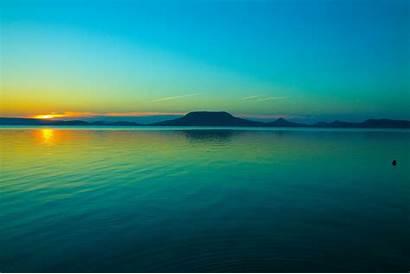 Balaton Lake Hungary Wadden Sea Emptiness Way
