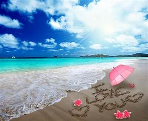 Romantic Beach Vacation Full HD Wallpaper and Background ...