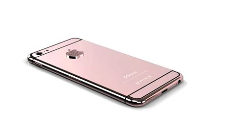 pre order your iphone 6 in pink gold with diamonds for