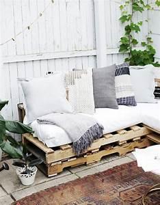 La palette en bois dans tous ses etats elle decoration for Canapé en palette de bois