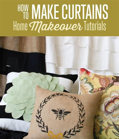 How To Make Curtains For Beginners by Types Of Fabric Home Makeover Tutorial How To Curtains