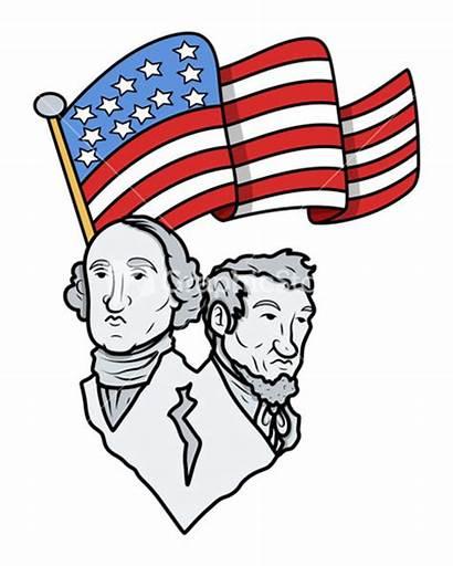 Lincoln Washington George Abraham Abe Clip Clipart