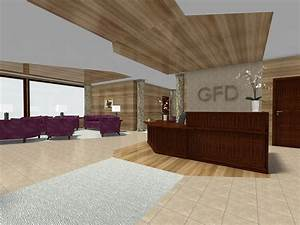 Traditional Office Lobby Design - Office Designs