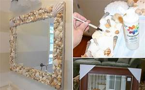 Marvelous DIY Shell Mirror