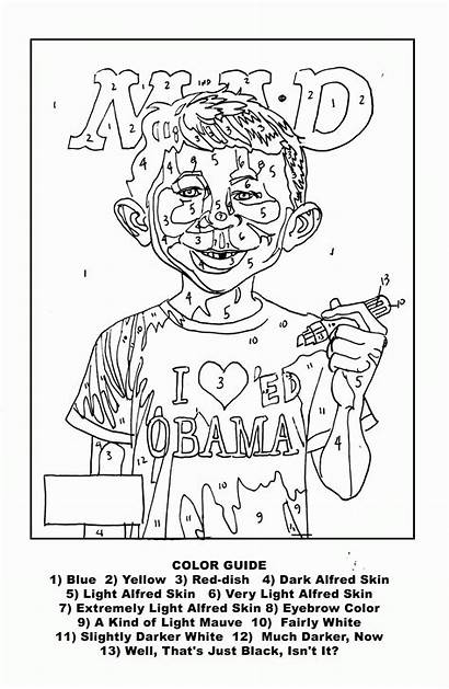 Numbers Adults Paint Printable Coloring Pages Popular