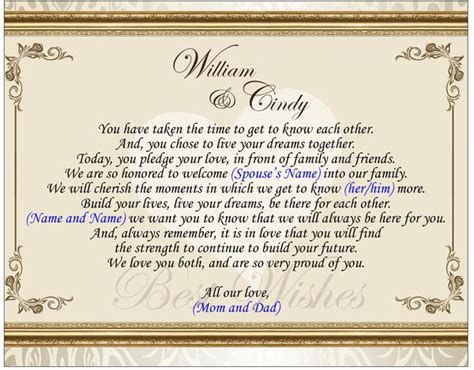 personalized gift  daughter  law  groom  wedding day