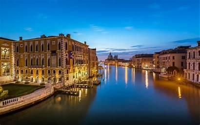 Venice Italy Grand Canal Evening Desktop Beach