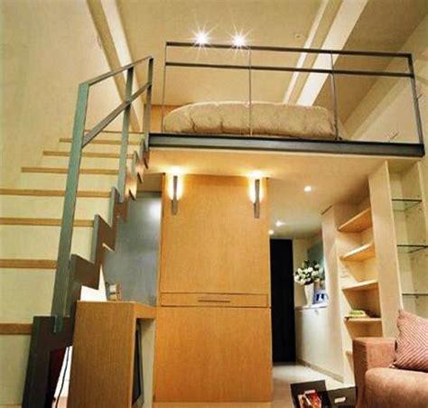 space saving loft designs  modern small rooms