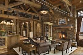 Rustic Cabin Living Room Ideas by Rustic Living Room