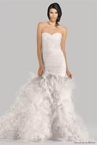 oscar de la renta bridal fall 2012 wedding inspirasi With oscar de la renta mermaid wedding dress