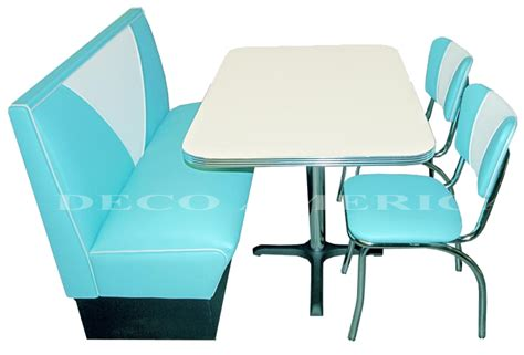 location table et chaise kiloutou retro diner set vintage booth 2 retro diner