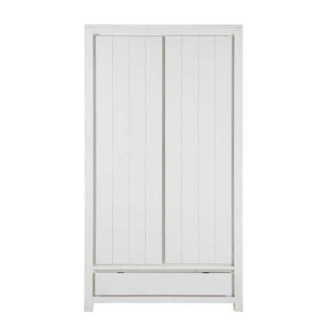 guardaroba maison du monde guardaroba in massello di legno l 110 cm white maisons