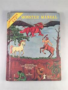 Vintage Advanced Dungeons And Dragons Monster Manual 4th